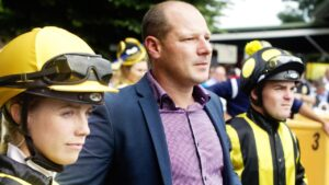 Trainer Todd Smart is a trainer to follow at Albury on Tuesday.