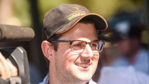 Albury racehorse trainer Mitchell Beer holds a strong hand at Gundagai.