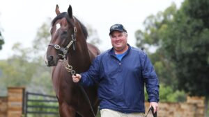 Local trainer Brad Widdup has several good chances in the feature races at Hawkesbury on Saturday.