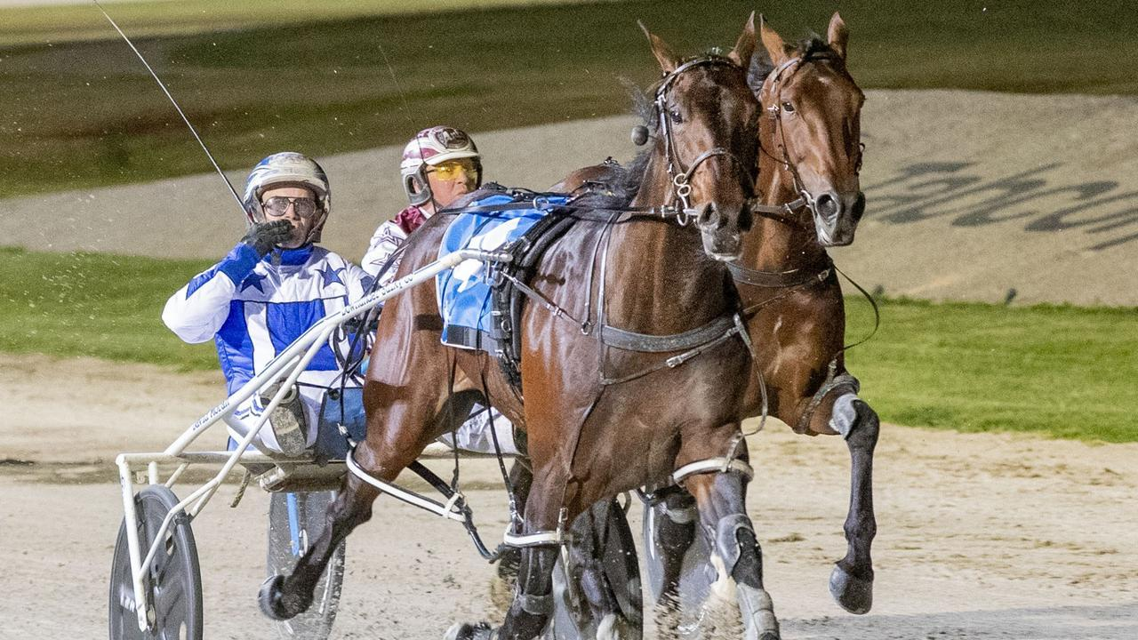 Harness racing star Lochinvar Art will be spelled for four months.