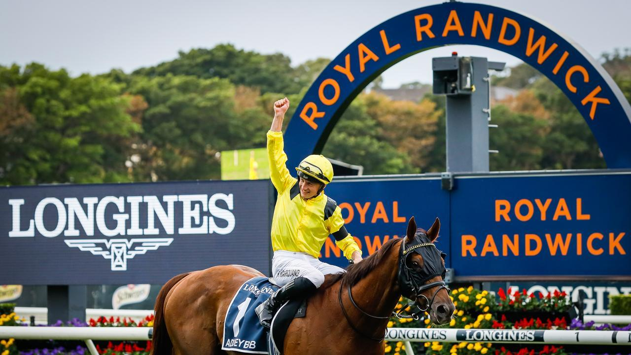 Tom Marquand on Addeybb return after winning a second Longines Queen Elizabeth Stakes. Photo: Hanna Lassen/Getty Images