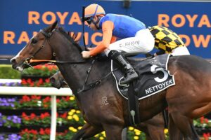 Nettoyer beats Probabeel in the Queen Of The Turf.