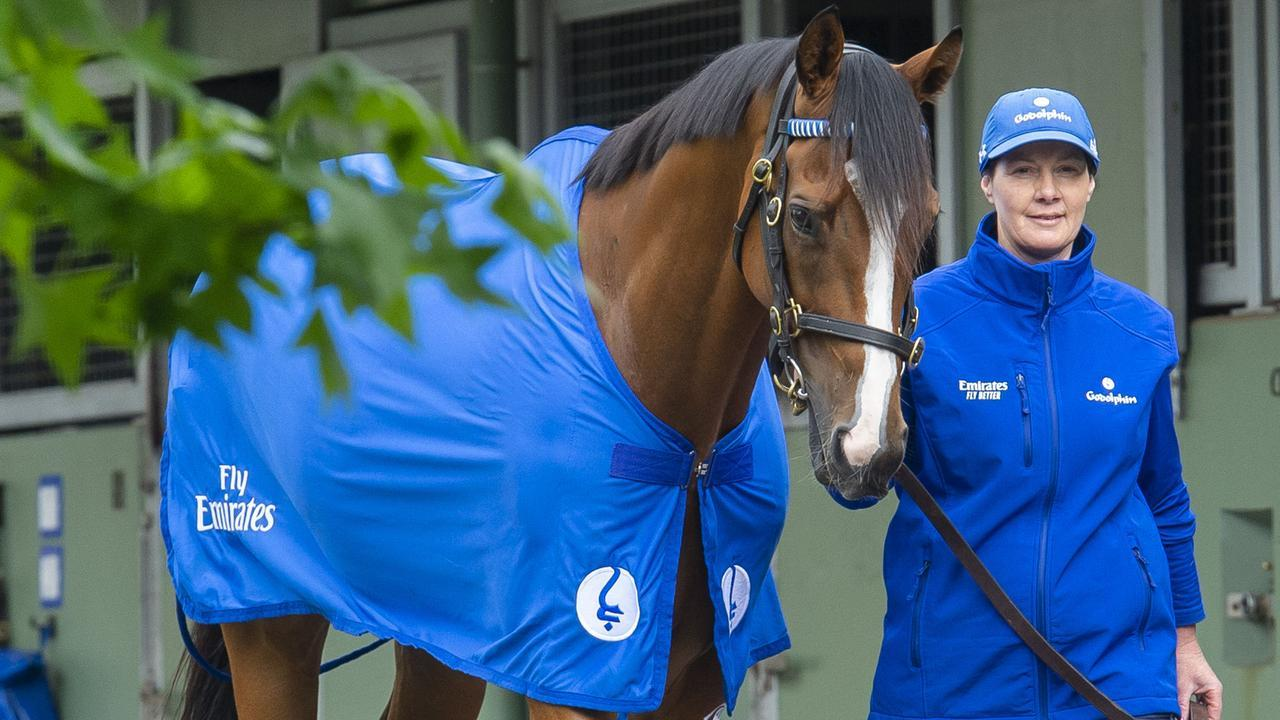 Godolphin will be represented in The Everest for the next three years. Photo: Jay Town.