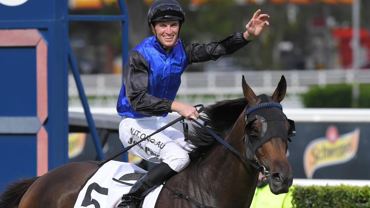 Shadow Hero will rejoin Mark Newnham. Photo: AAP Image/Simon Bullard