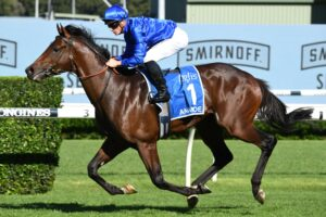 Anamoe gave James McDonald an easy ride in the ATC Sires' Produce Stakes.