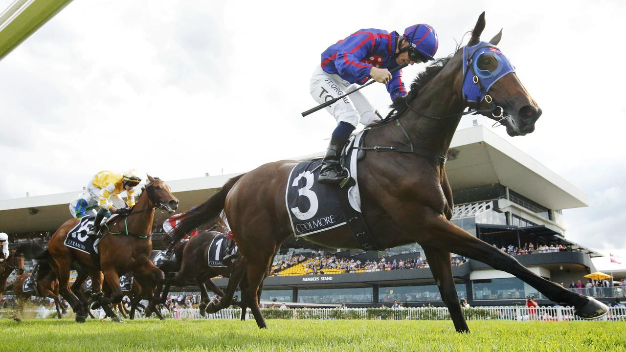 Krone wins Group 1 Coolmore Classic. Pic: Getty Images.