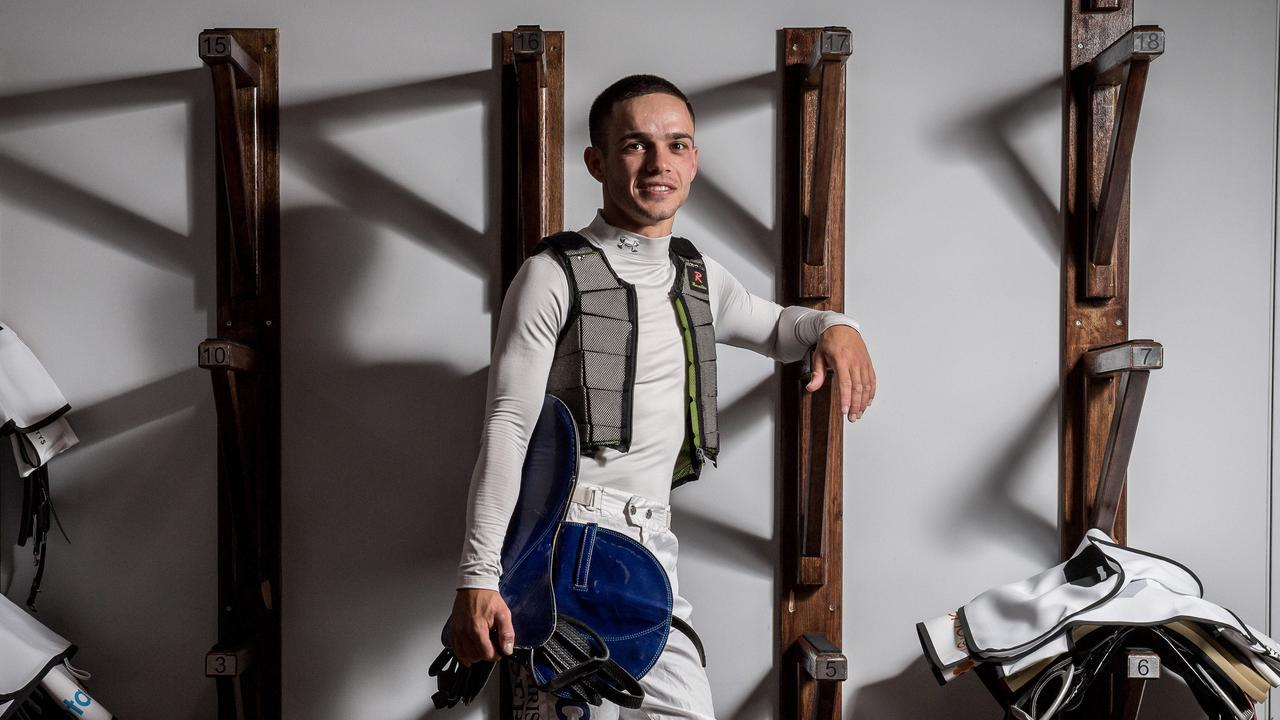 Jockey Chris Caserta is now based at Tweed Heads on the Queensland-NSW border. Picture: Jake Nowakowski