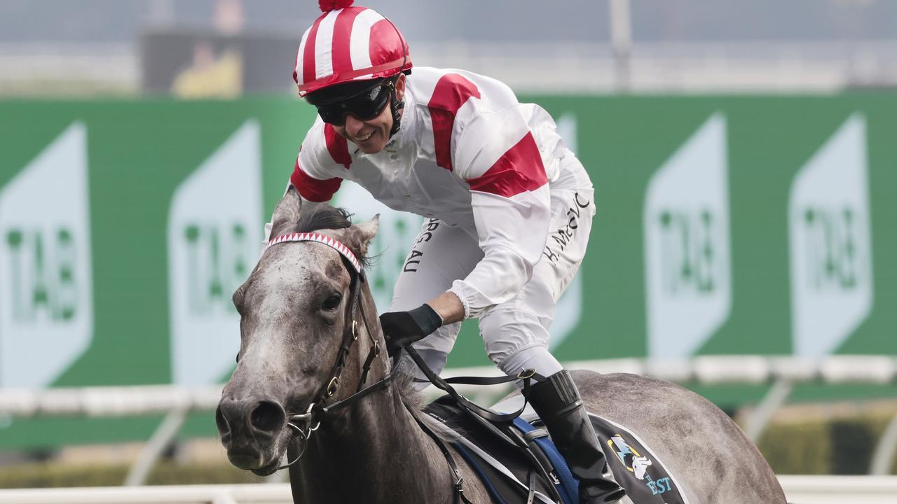 Classique Legend is banned from racing for three months after a bleeding attack in a Hong Kong track gallop. Picture: Getty Images