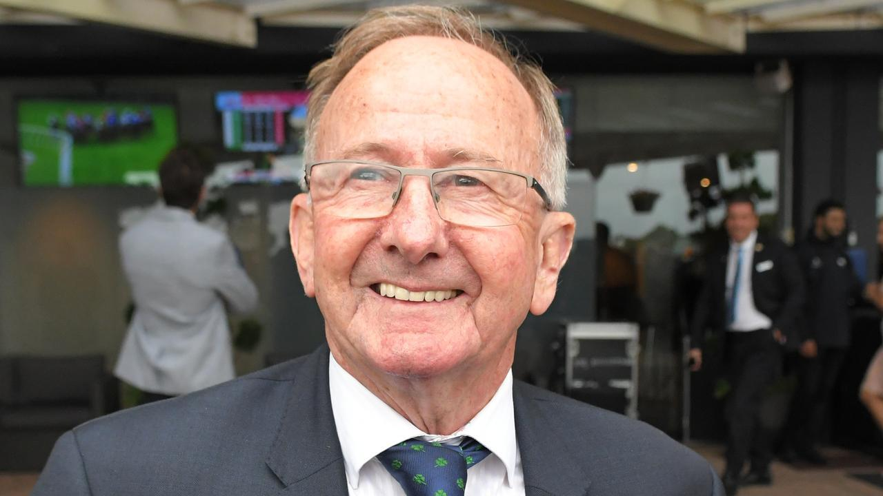 Former champion jockey and top trainer Ron Quinton won the Golden Slipper four times in six years on Marscay