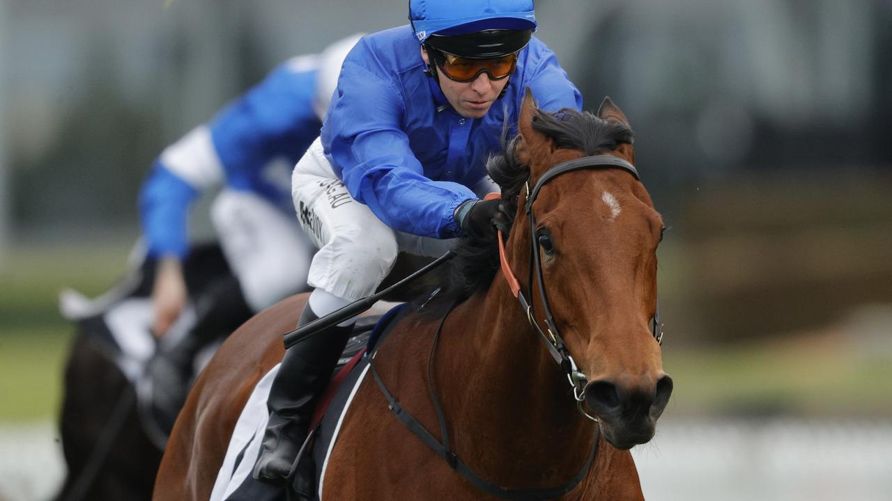 Tailleur will chase a maiden Group 1 win in The Galaxy at Rosehill on Saturday. Picture: Getty Images
