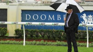 The Doomben track is currently in the heavy range. Picture: AAP