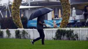 The Golden Slipper meeting at Rosehill was called off last Saturday. Picture: Sam Ruttyn