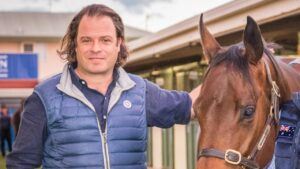 Coolmore Australia's Tom Magnier is represented by Home Affair and O'President in Saturday's Golden Slipper.