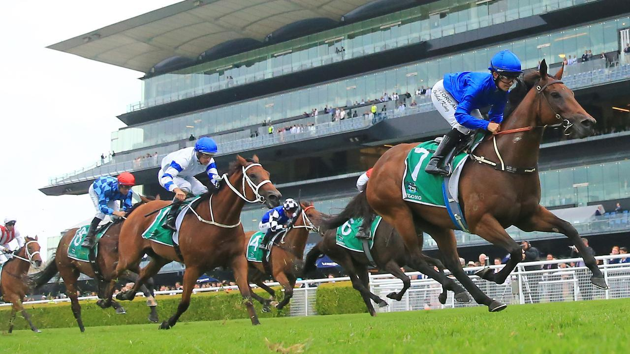 Colette started her autumn campaign with a win in the Apollo Stakes. Picture: Getty Images