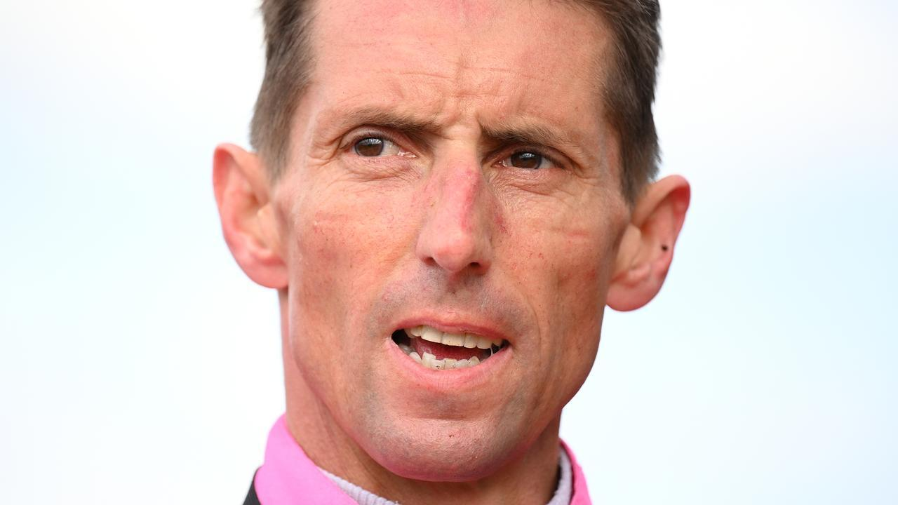 Jockey Nash Rawiller was keen to stick with Drummin at Randwick. Picture: AAP