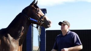 Grant Allard (pictured) can see no reason why Majestic Shot won't win again at Goulburn on Thursday.
