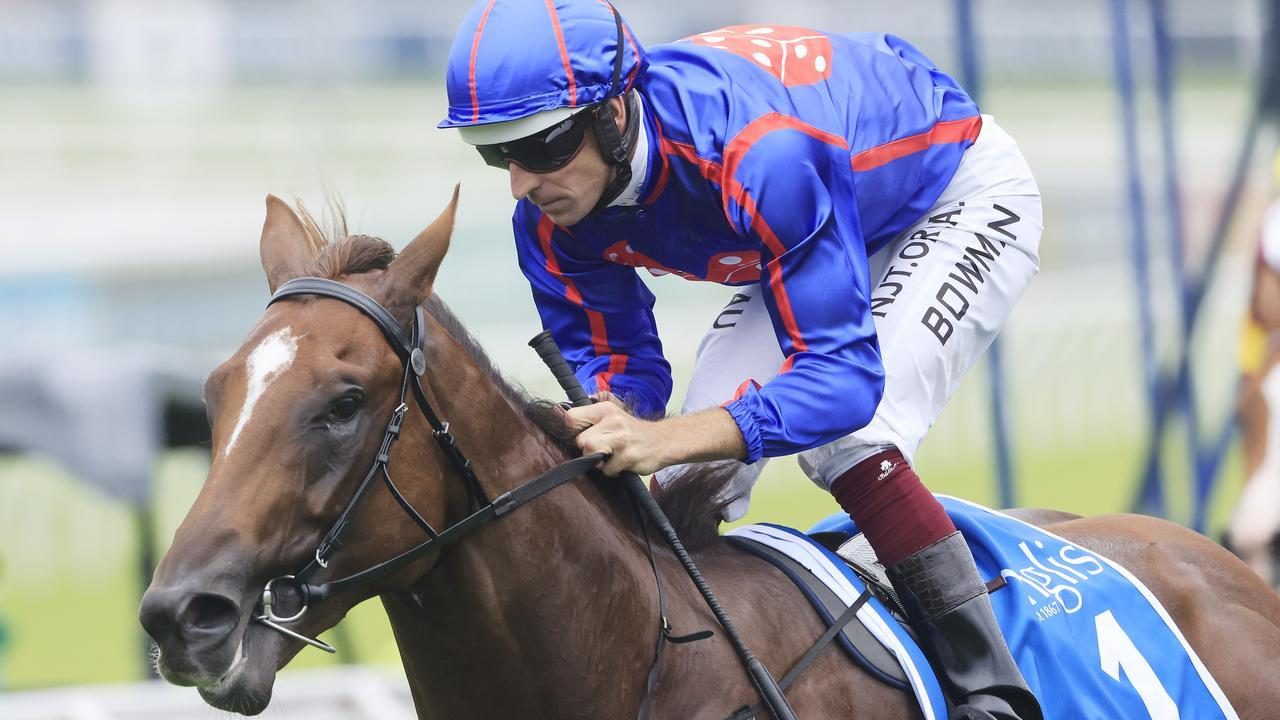 Hugh Bowman is confident Profiteer can bounce back to winning form in the Golden Slipper. Picture: Getty Images