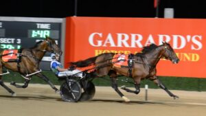 King Of Swing makes it look easy winning the 2021 Miracle Mile. Photo: Supplied