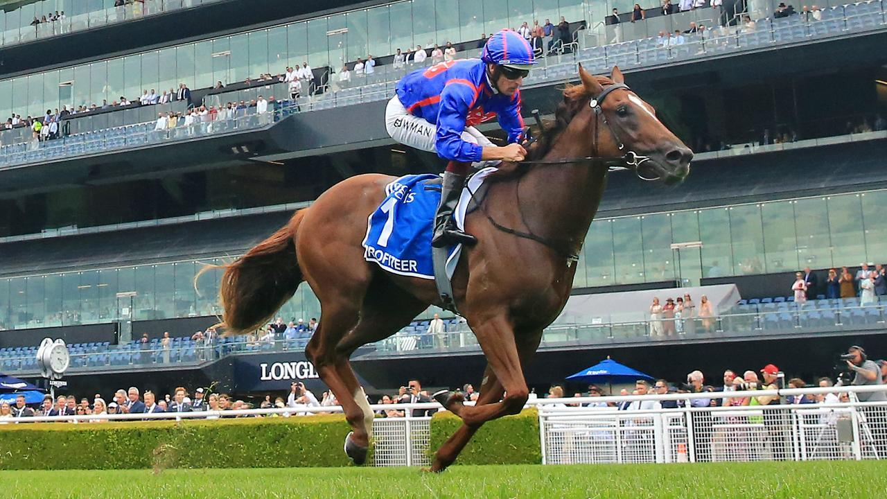 Profiteer was in a league of his own when winning the $2 million Inglis Millennium at Randwick in February. (Photo by Mark Evans/Getty Images)