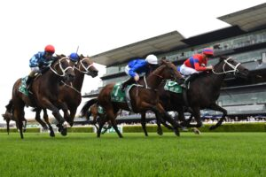 Verry Elleegant and James McDonald win the Chipping Norton Stakes.