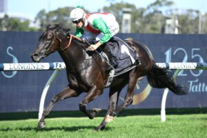 Aegon cruises to victory in the Group 2 Hobartville Stakes.
