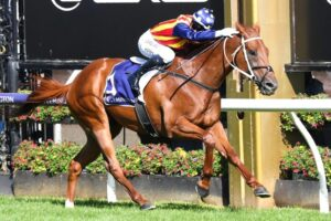 Nature Strip was back to his devastating best for Jamie Kah in the Group 1 Lightning Stakes.