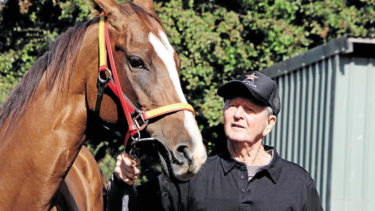 Trainer Bill Ryan and his All-Star Mile hopeful Still A Star.
