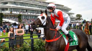 Mystic Journey was beaten as a short-priced favourite on Sunday. Picture: AAP