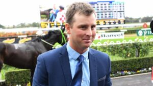 Trainer Stirling Osland will saddle-up two chances in the Walcha Cup. Picture: AAP