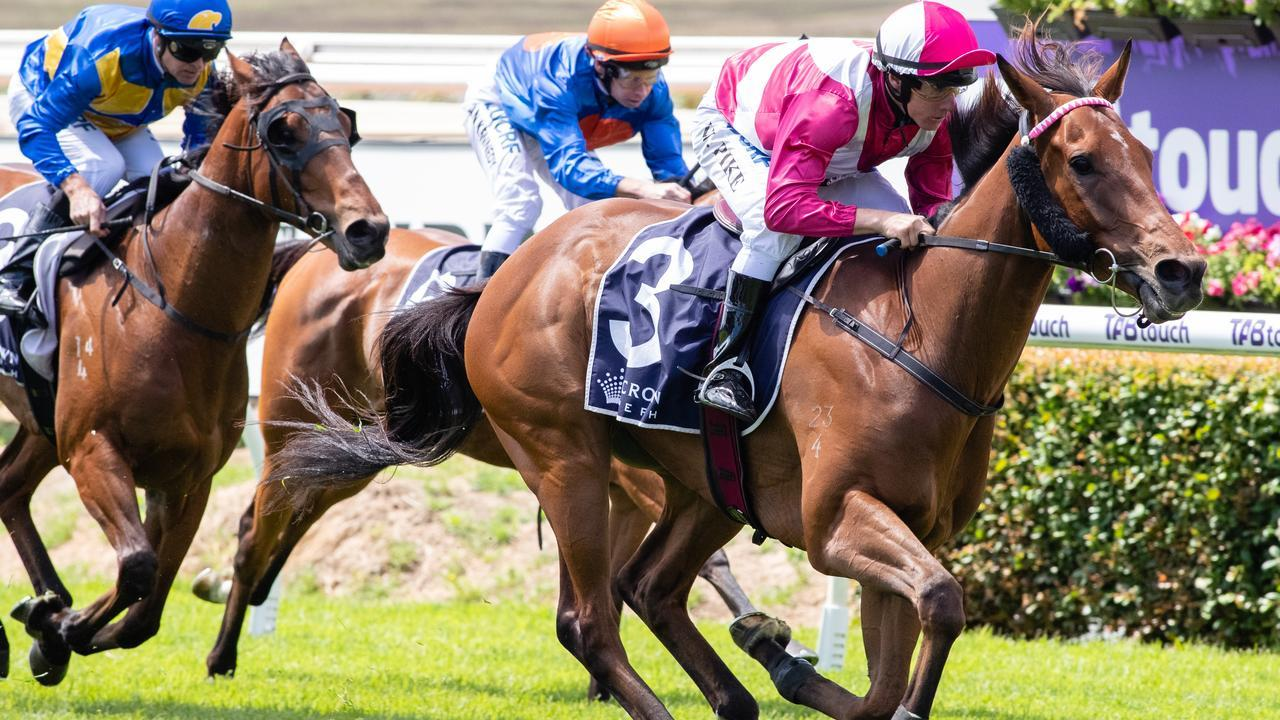 William Pike cruising to victory aboard Arcadia Prince in 2018. Picture: AAP