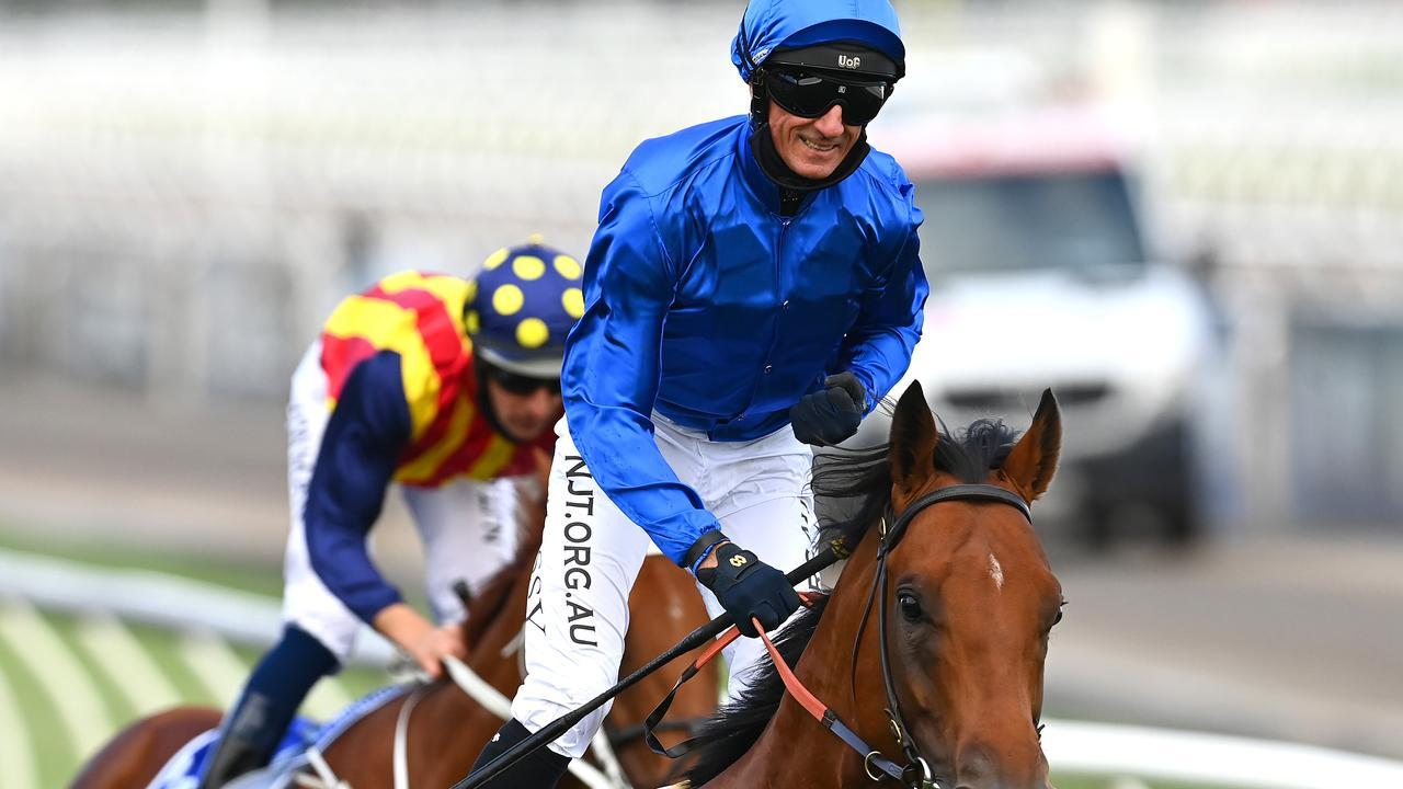 Jockey Glen Boss will attempt to notch another Group 1 win on the brilliant sprinter Bivouac during his stint in Melbourne. Picture: Getty Images