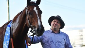 Trainer Daniel Bowen finally gets a wet track for Lucap (not pictured). Picture: Susanna Freymark