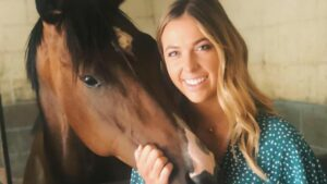 American horsewoman Hannah Mathiesen is chasing another Magic Millions win.