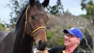 Star far north Queensland racehorse Paniagua can secure a start in the Stradbroke Handicap if successful this weekend.