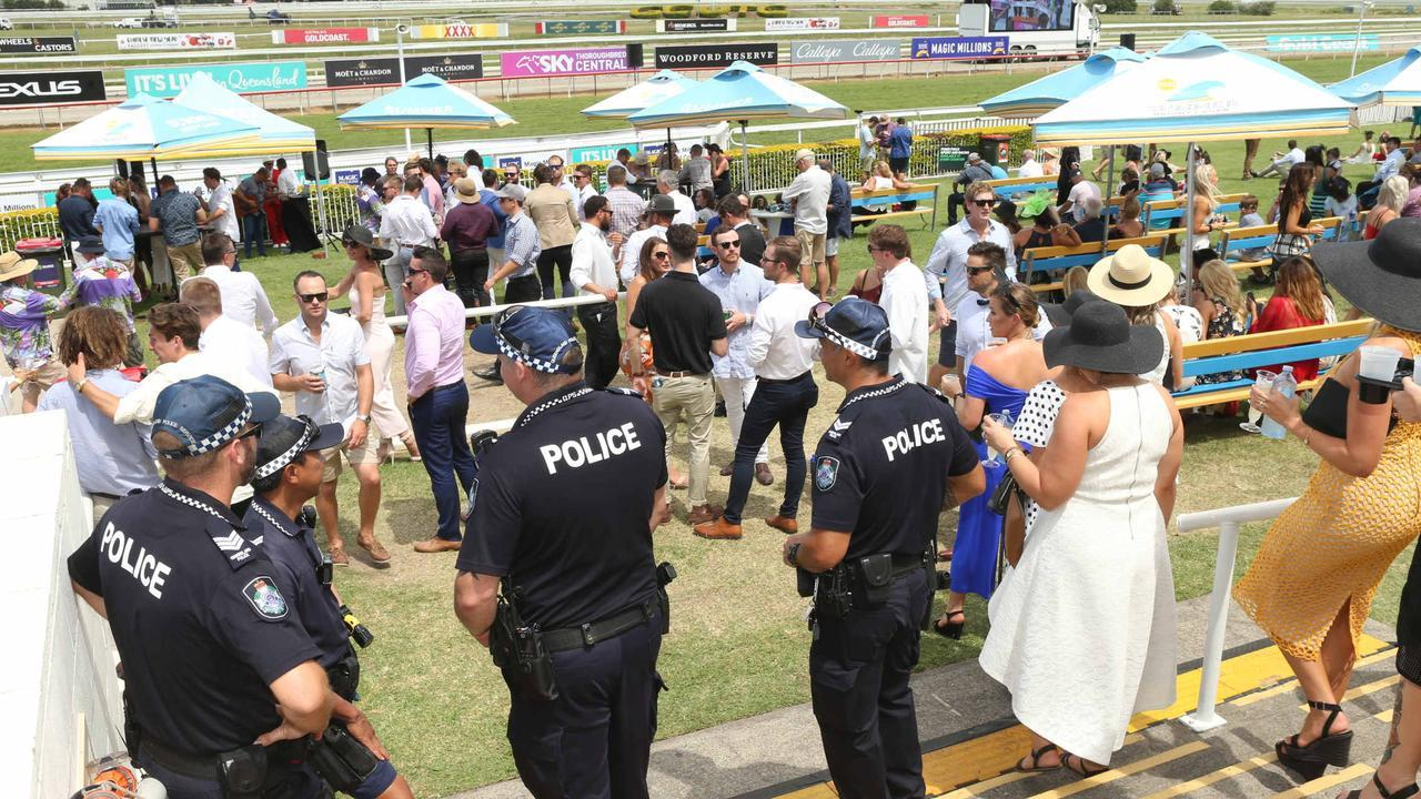Magic Millions crowd numbers are likely to be restricted. Picture: Mike Batterham
