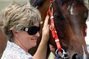 Sue Grills has a genuine Country Championships contender racing at Tamworth Monday