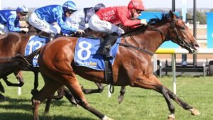 Missile Mantra winning at Ballarat. Picture: Getty Images