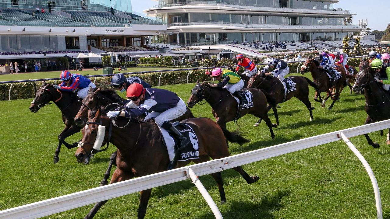 Turnover on the Melbourne Cup hit records levels with the big bookies. Picture: AFP