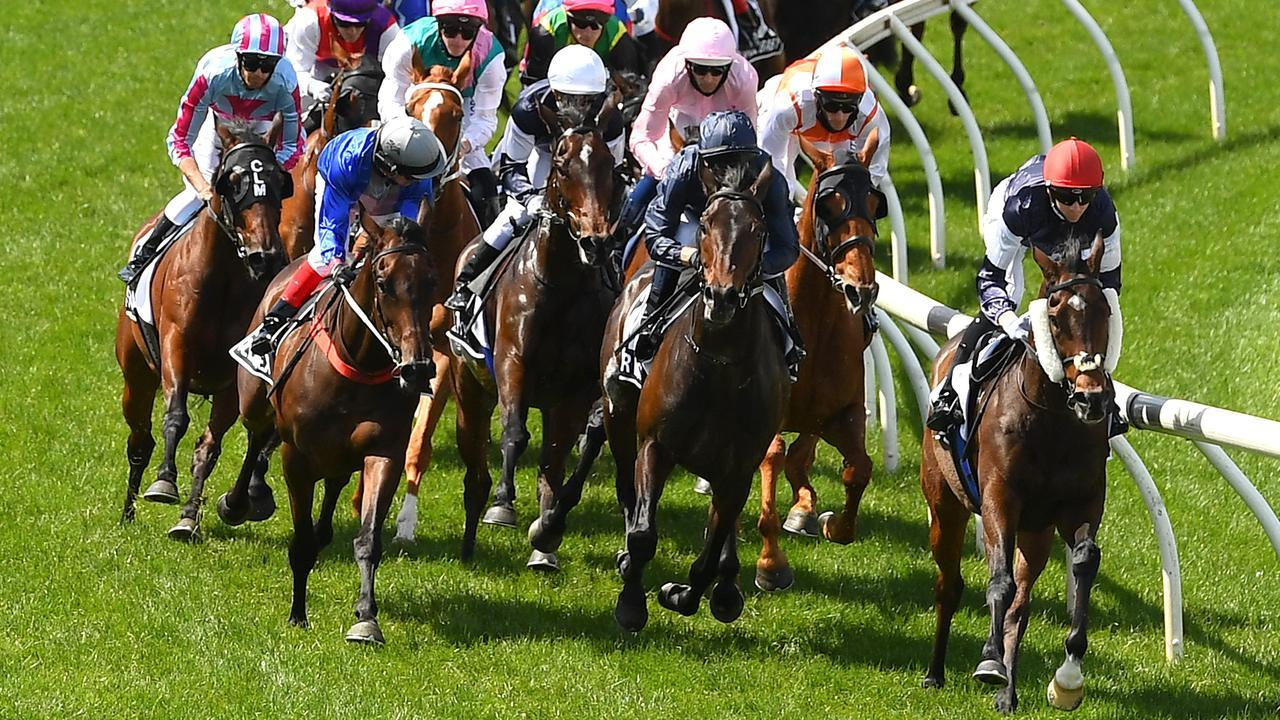 Twilight Payment scored an all-the-way win in the Melbourne Cup. Picture: Getty Images