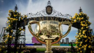The Melbourne Cup will be run and won soon after 3pm on Tuesday. Photo by Darrian Traynor/Getty Images
