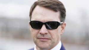 Aidan O'Brien has had his star galloper Wichita euthanised. Picture: Getty Images