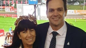 Russian Camelot's Queensland part-owners Dan and Rae Fletcher.