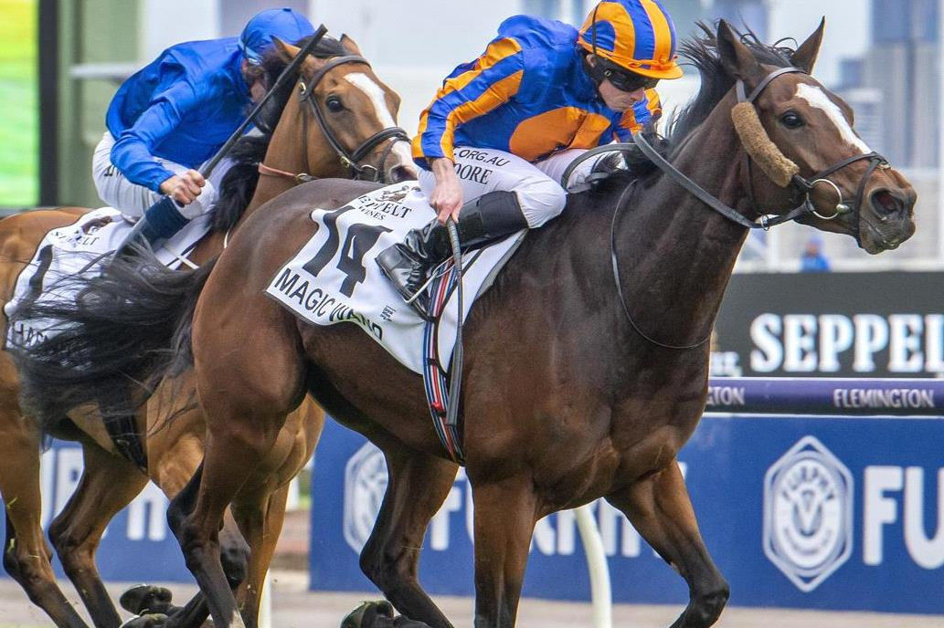 Magic Wand is out of the 2020 Cox Plate.