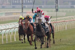 Classique Legend ran away with The Everest.