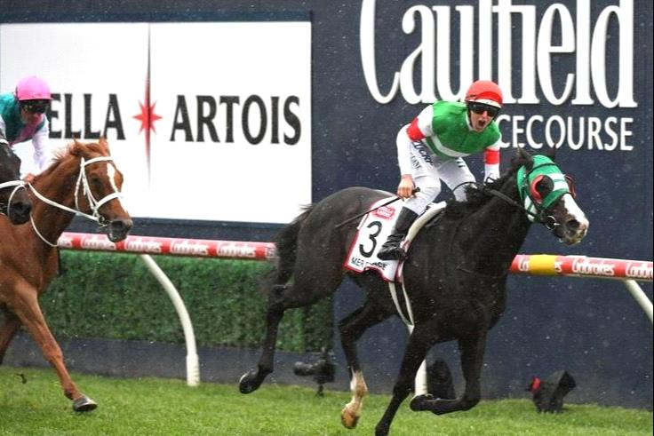 Who will add their name to the prestigious Caulfield Cup winners list.