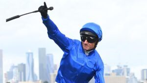 Glen Boss is confident Bivouac will run a big race in The Everest. Picture: AAP