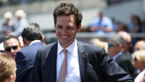 Matt Cumani will find out on Wednesday afternoon whether he has a runner in the 2020 Caulfield Cup. Photo: AAP Image/George Salpigtidis.