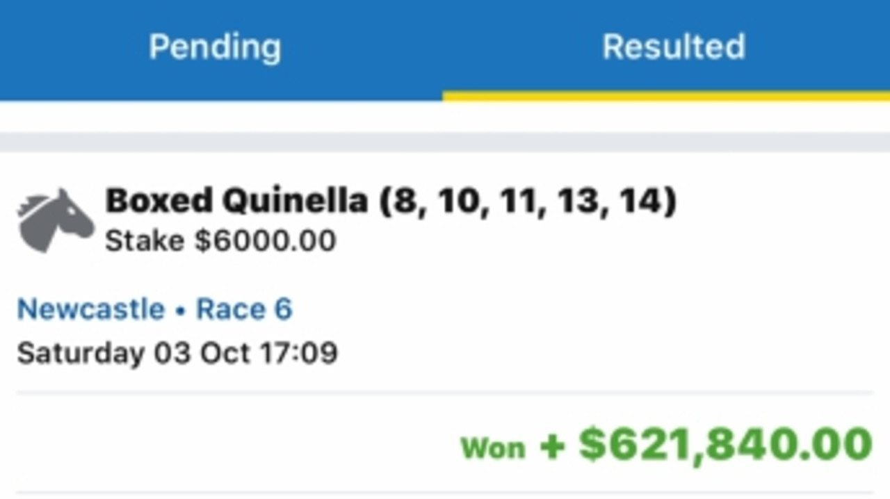 Now this is a winning bet! Supplied