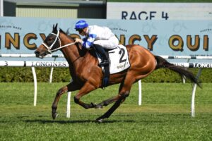 Kolding will be targeted at the Cox Plate after winning the Hill Stakes.