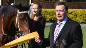 Trainer Warren Gavenlock is hoping to go one better in theis yaer's Lismore Cup with Ambitious Prince.